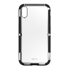 """EFM Cayman D3O Case Armour for iPhone Xs Max (6.5"""") - Silver Trim"""