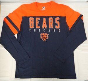 Chicago Bears Hands High Men's Large Hands High G-III Playoff Long Sleeve Shirt