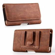 Wallet Cell Phone Case Pouch Cover Credit Card Holder With Carrying Clip Holster