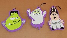 "Halloween Foam Ornaments 3ea By Creatology 3+ Monsters & Ghost 4"" x 4"" 40M"
