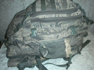 US AIR FORCE TIGER STRIPE Tactical ABU Military ARMY Stretch BACK PACK Rucksack