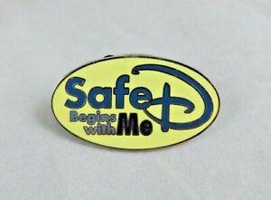 Walt Disney World Pin - Safe D Begins With Me - Cast Member Award