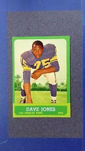 1963 Topps Football #44 DAVE Deacon JONES RC Los Angles Rams EX+ ~GT05