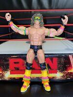WWE MATTEL ELITE ULTIMATE WARRIOR HALL OF FAME WRESTLING FIGURE WWF STEEL CAGE