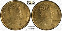 (2011) Chile PCGS MS61 Mule Two-Head only 5 CERTF TrueView RicksCafeAmerican.com