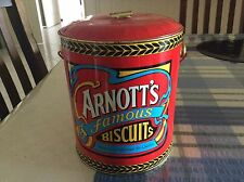 ARNOTTS BISCUIT BILLY CAN TIN