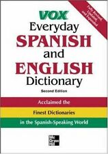 Vox Everyday Spanish and English Dictionary (VOX Dictionary Series) by Vox