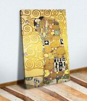 Gustav Klimt The Embrace CANVAS WALL ART PICTURE PRINT ARTWORK PAINTING FRAMED