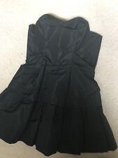 Miu miu Black Mini Dress BNWT Try Code Pick5 For 5% Off