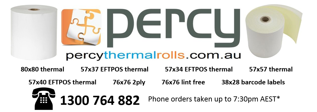 Percy Thermal Rolls (eBay)
