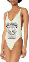 Billabong 240109 Womens Reissue One Piece Swimwear Seashell Size Medium