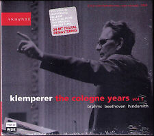 KLEMPERER The Cologne Years 1 BEETHOVEN Symphony 3 4 BRAHMS Piano Con ANDA 2CD