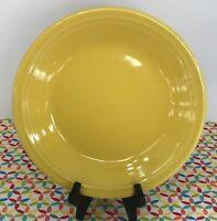 Fiestaware Sunflower Dinner Plate Fiesta Yellow 10.5 inch Plate