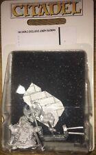 Joseph Bugman su Sgabello-UN MONDO DI WARHAMMER Regno Unito esclusivo Modellino in Metallo Nuovo di zecca con scatola