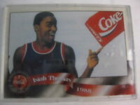 ISIAH THOMAS 1988 COCA COLA COKE SPRINT PHONE CARD CELS