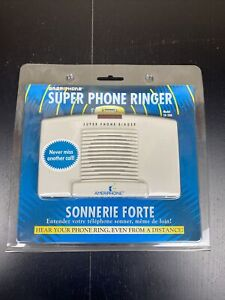 Ameriphone Super Phone Ringer Model SR-200 Telephone Ring Amplifier 95+dB