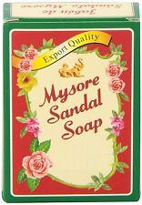 Mysore Sandal Sandalwood Soap 125g -10 bars - USA SELLER FAST SHIPPING - GRADE I
