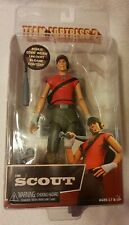 """Team Fortress 2 The Scout 7"""" Inch Action Figure 2018 NECA Series 4 Red RARE"""