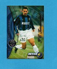 INTER CARDS 2000- numero 36- ROBERTO BAGGIO -NEW