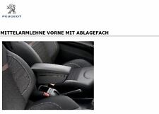 Original Peugeot 208 Armlehne Mittelarmlehne mit Ablagefach vorne 1606631280 NEU