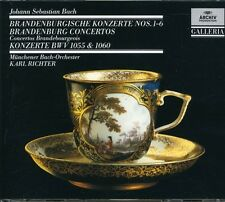Karl Richter, J.S. B - 6 Brandenburg Concertos: BWV 1055 1060 [New CD] Holland