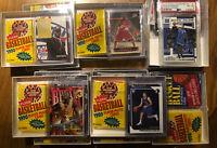 2 1990 Fleer Packs Plus 1/15 Chance /Lebron, Kobe, Doncic Rookie 1Jordan Per Box