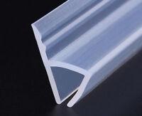 1M/2M Screen Door Window Bath Shower Seal Strip Gap Curved Flat Rubber 6mm~12mm