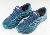 Asics Women's Gel-Nimbus 19 Insignia Blue Glacier Sea Running Shoes Size 9 T750N