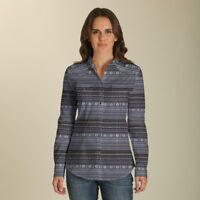 Wrangler Women's Multi Color Aztec Print Snap Up Western Shirt LW7229M
