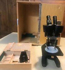 Stereomikroskop C.B.S. Beck, Kassel, Stereolupe.Stereoscopic microscope