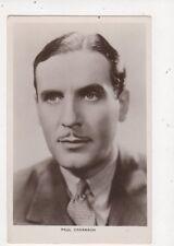 Paul Cavanagh Actor Vintage RP Postcard 580a
