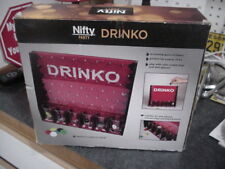 Drinko Shot Glass Drinking Game Plinko With A Twist Drunk Party Price Is Right