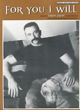 For You I Will - Aaron Tippin - 1998 Sheet Music