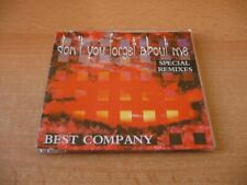 Maxi CD Best Company - Don`t you forget about me - Special Remixes - Kultsong