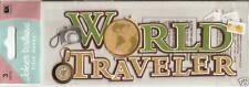 Jolee's Boutique Title ***WORLD TRAVELER***