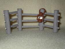 Hallmark Merry Miniature 1994 Fence With Lantern Fall