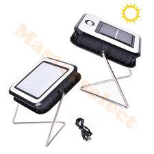 Lampe puissant solaire rechargeable de table avec chargeur USB portable NOUVEAU