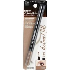 (2) Maybelline Brow Define + Fill Duo Defining Pencil, 250 Blonde