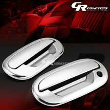 FOR 97-03 FORD F-150 CHROME MIRROR ABS 2-DOOR HANDLE COVER KIT NO PASSENGER KEY