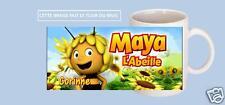 mug tasse céramique maya abeille avec prénom au choix réf 250