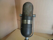 RCA 77 Vintage Ribbon Microphone Classic 1940s Broadcast  Mic TV Grey..NEW PRICE