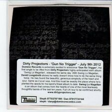 (DC352) Dirty Projectors, Gun No Trigger - 2012 DJ CD