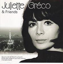 CD 16T JULIETTE GRECO/MONTAND/EDITH PIAF/LINE RENAUD/CHARLES TRENET/SALVADOR