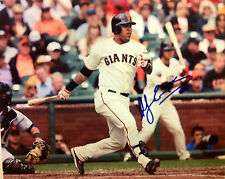 Hector Sanchez signed 8x10 photo, SF Giants, World Series Champions