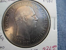 GREECE GREEK COIN  CRETE  1901  GEORGIOS   5  Draxmai  VF Circulated uncertified