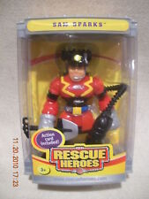 Rescue Heroes 2004 Collectors Edition Sam Sparks New!