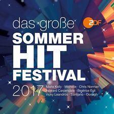 DAS GROßE SOMMER-HIT-FESTIVAL 2017  (SANTIANO, OONAGH, MICHELLE, ...) CD NEU