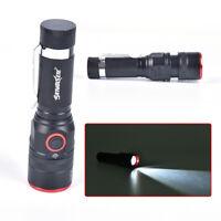 1 stück T6 COB Taschenlampe Zoomable LED 18650 USB Wiederaufladbare Lamp WCY