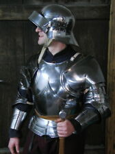18GA Medieval Armor Full Suit Of Gothic captain's Armor Suit 1530ct Replica