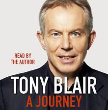 TONY BLAIR A Journey - 13 CD Audio Talking Book